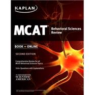 Kaplan MCAT Behavioral Sciences Review by Macnow, Alexander Stone, M.D., 9781625231260