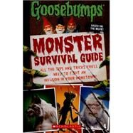 Goosebumps The Movie: Monster Survival Guide by Lurie, Susan, 9780545821261