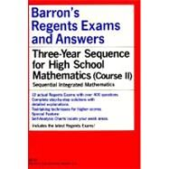 Barron's Regents Exams and Answers Sequential Math Course II by Schlumpf, Lester, 9780812031263