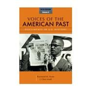 Voices of the American Past, Volume II by Hyser, Raymond M.; Arndt, J. Chris, 9781111341268