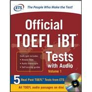 Official TOEFL iBT Tests with Audio by Educational Testing Service, 9780071771269