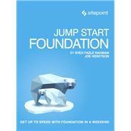 Jump Start Foundation by Rahman, Syed Fazle; Hewitson, Joe, 9780992461270