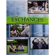 Social Exchanges by Davis, Tasha F., 9781465261274