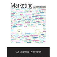 Marketing: An Introduction, 12/e by ARMSTRONG; KOTLER, 9780133451276