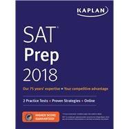 Kaplan SAT Prep 2018 by Kaplan, Inc., 9781506221281