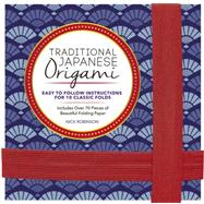 Traditional Japanese Origami Kit by Robinson, Nick, 9781631061288