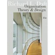 Organization Theory and Design by Daft, Richard L., 9781111221294