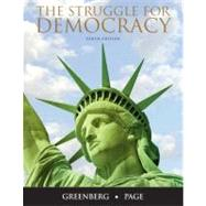The Struggle for Democracy by Greenberg, Edward S.; Page, Benjamin I., 9780205771295