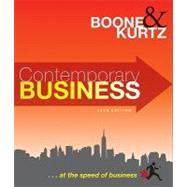 Contemporary Business, 14th Edition by Kurtz, David L.; Boone, Louis E., 9780470531297