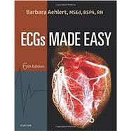 Ecgs Made Easy by Aehlert, Barbara, R.N., 9780323401302