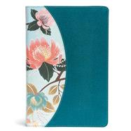 The CSB Study Bible For Women, Teal Flowers LeatherTouch, Indexed by CSB Bibles by Holman; Kelley Patterson, Dorothy; Harrington Kelley, Rhonda, 9781433651304