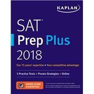 SAT Prep Plus 2018 by Kaplan Test Prep, 9781506221304