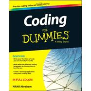 Coding for Dummies by Abraham, Nikhil, 9781118951309