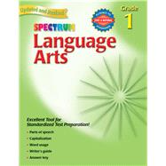 Spectrum Language Arts by Spectrum, 9780769681313