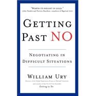 Getting Past No by URY, WILLIAM, 9780553371314