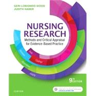 Nursing Research + Evolve by Lobiondo-Wood, Geri, Ph.D., R.N.; Haber, Judith, Ph.D., R.N., 9780323431316