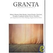 Granta 101 by Edited by Jason Crowley, 9781929001316
