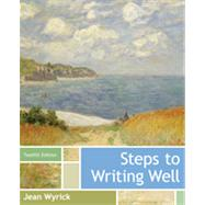 Steps to Writing Well by Wyrick, Jean, 9781133311317