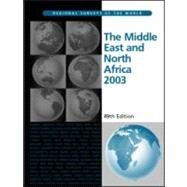 The Middle East and North Africa 2003 by Eur, 9781857431322