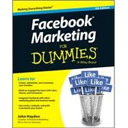 Facebook Marketing for Dummies by Haydon, John, 9781118951323