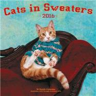 Cats in Sweaters 2016 Calendar by Rock Point, 9781631061325