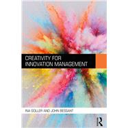 Creativity for Innovation Management by Goller; Ina, 9781138641327