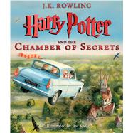 Harry Potter and the Chamber of Secrets: The Illustrated Edition (Harry Potter, Book 2) by Rowling, J.K.; Kay, Jim, 9780545791328