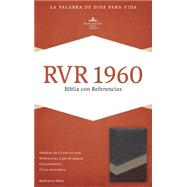 RVR 1960 Biblia con Referencias, marrón/tostado/bronceado símil piel by Unknown, 9781433691331