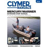 Mercury / Mariner Outboard Shop Manual by Haynes Manuals, 9781620921333