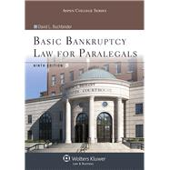 Basic Bankruptcy Law for Paralegals by Buchbinder, David L., 9781454831334