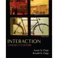 Interaction Langue et culture by St. Onge, Susan; St. Onge, Ronald, 9781428231337