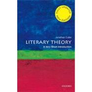 Literary Theory: A Very Short Introduction by Culler, Jonathan, 9780199691340