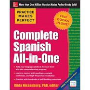 Practice Makes Perfect Complete Spanish All-in-One by Nissenberg, Gilda, 9780071831352