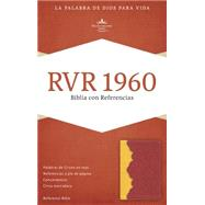 RVR 1960 Biblia con Referencias, ámbar/rojo ladrillo símil piel by Unknown, 9781433691355