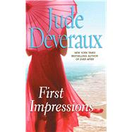 First Impressions A Novel by Deveraux, Jude, 9781501131356
