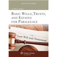 Basic Wills, Trusts, and Estates for Paralegals by Helewitz, Jeffrey A., 9781454831358
