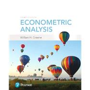 ECONOMETRIC ANALYSIS by Greene, William H., 9780134461366