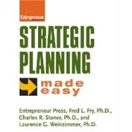 Strategic Planning Made Easy by Fry, Fred, 9781932531367