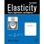 Elasticity by Sadd, Martin H., 9780124081369