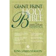 KJV Giant Print Reference Bible by Not Available (NA), 9780310911371
