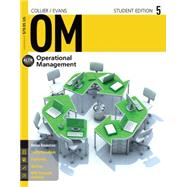 OM 5 (with CourseMate, 1 term (6 months) Printed Access Card) by Collier, David Alan; Evans, James R., 9781285451374