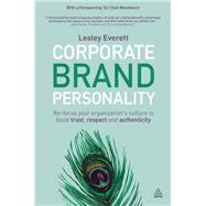 Corporate Brand Personality by Everett, Lesley, 9780749471378