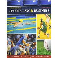 Introduction to Sports Law and Business by PHIL BREAUX, 9781602501379