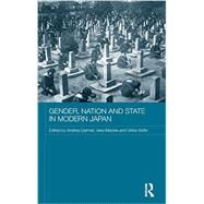 Gender, Nation and State in Modern Japan by Germer; Andrea, 9780415381383
