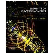 Elements of Electromagnetics by Sadiku, Matthew, 9780199321384