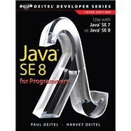 Java SE8 for Programmers by Deitel, Paul; Deitel, Harvey, 9780133891386