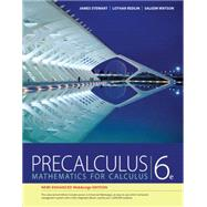Precalculus, Enhanced WebAssign Edition (with Enhanced WebAssign Printed Access Card for Pre-Calculus & College Algebra, Single-Term Courses) by Stewart, James; Redlin, Lothar; Watson, Saleem, 9781305581388