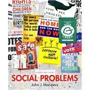 Social Problems by Macionis, John J., 9780205881390