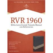 RVR 1960 Biblia Letra Grande Tamaño Manual con Referencias, marrón/tostado/bronceado símil piel by Unknown, 9781433691393