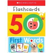 Flashcards: 50 First Words (Scholastic Early Learners) by Scholastic, 9781338161397